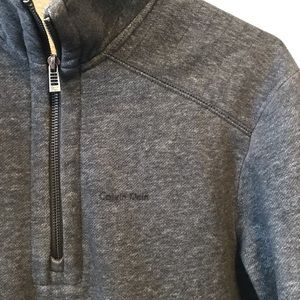 NWOT Calvin Klein pullover Men's small charcoal